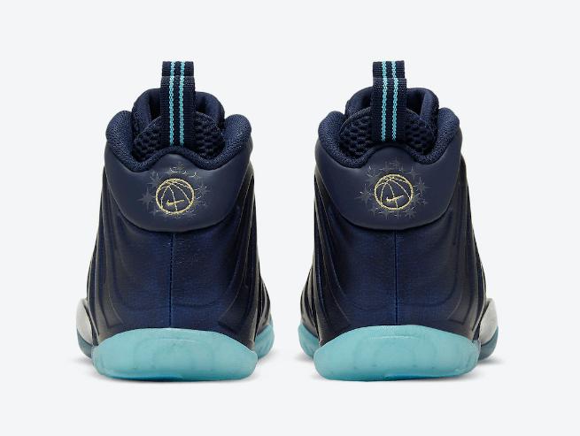 """耐克午夜繁星喷全新配色 Nike Little Posite One """"Obsidian"""" 耐克喷泡黑曜石改版款 货号:CZ6547-400-潮流者之家"""