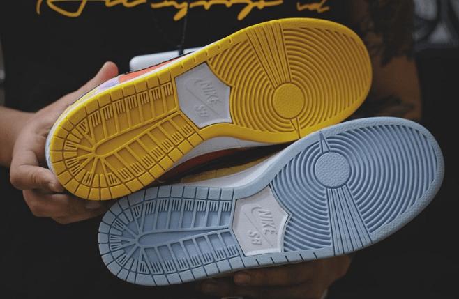 """耐克Dunk SB CNY鸳鸯配色低帮 Nike SB Dunk Low """"CNY"""" 最新耐克CNY中国限定实物图 货号:CV1628-800-潮流者之家"""
