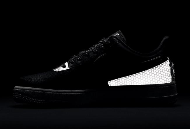 耐克空军黑色蜂窝设计 3M x Nike Air Force 1 Low 空军3M反光鞋款发售日期 货号:CT1992-001-潮流者之家
