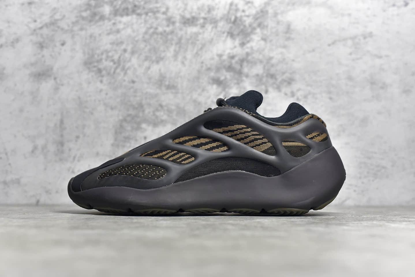 """阿迪达斯椰子700V3黑咖啡色 adidas Yeezy 700 V3 """"Eremiel"""" OG纯原版本的椰子700V3 货号:GY0189-潮流者之家"""
