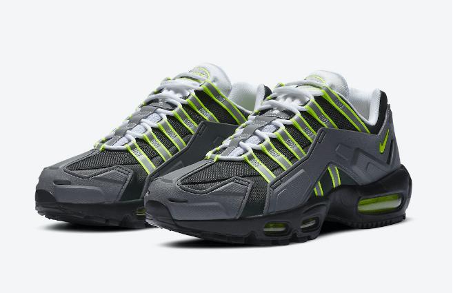 "耐克MAX95NEON机甲版 Nike NDSTRKT AM95 ""Neon"" 经典耐克MAX95配色复刻 货号:CZ3591-002-潮流者之家"