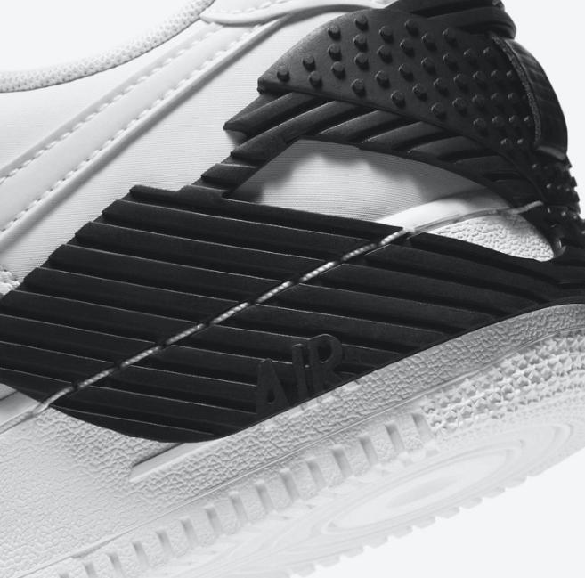 耐克空军一号全新包头设计 Nike NDSTRKT Air Force 1 空军最新款变形金刚既视感 货号:CZ3596-100-潮流者之家