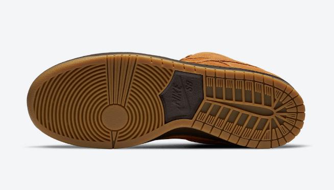 """耐克Dunk小麦摩卡 Nike SB Dunk Low """"Wheat Mocha"""" 耐克最新小麦配色发售日期 货号:BQ6817-204-潮流者之家"""