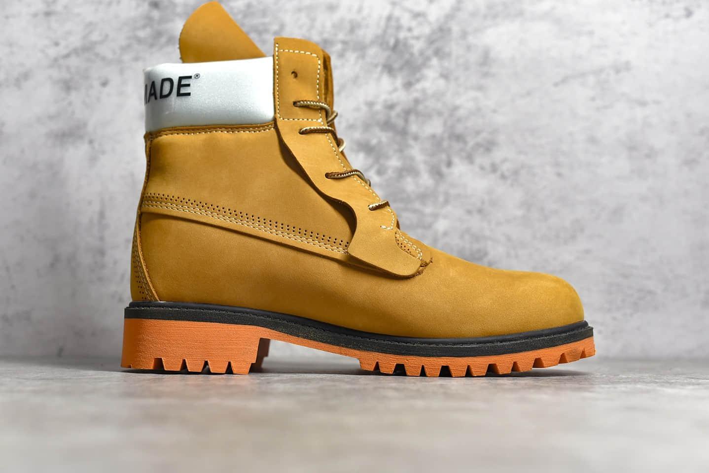 天伯伦联名款大黄靴 Timberland x Readymade A246KM 合作联名款 联乘限定再造-潮流者之家