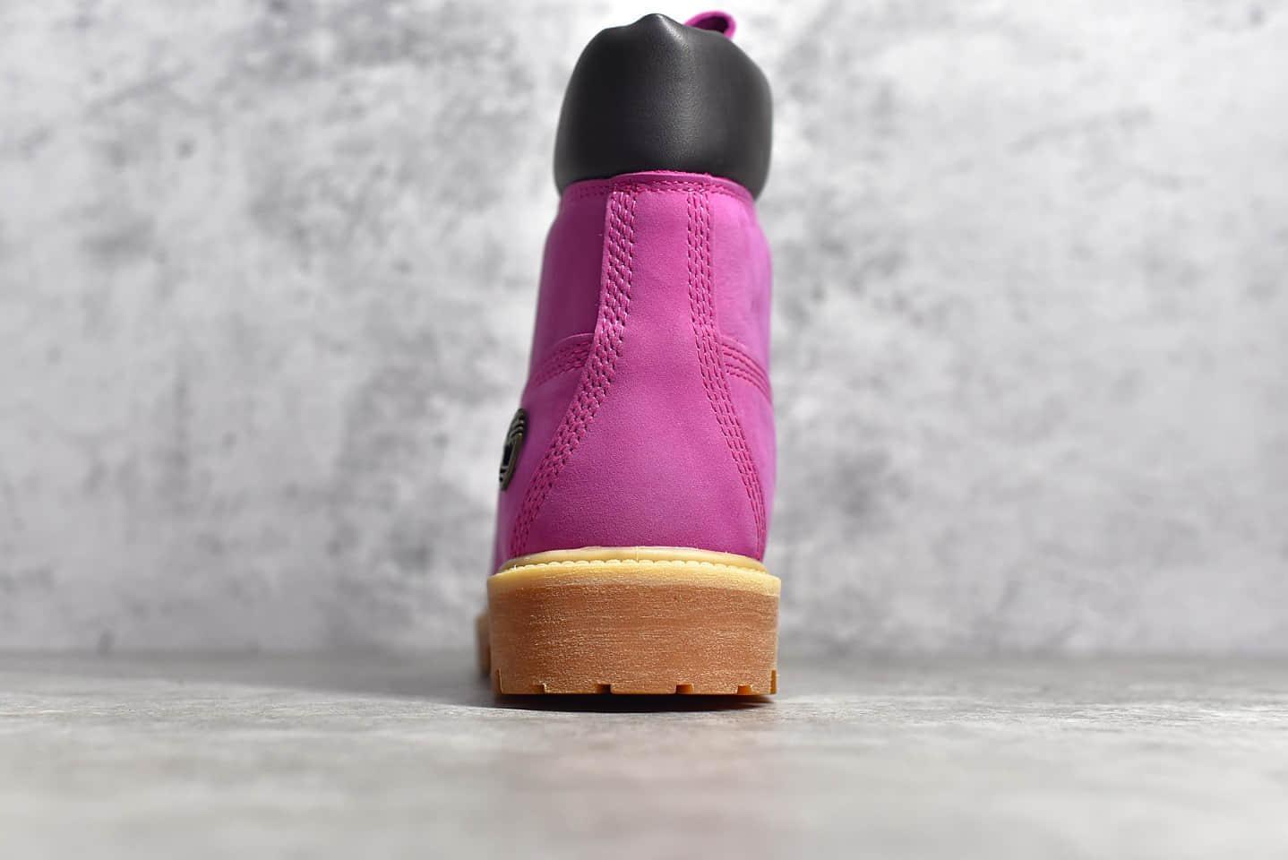 天伯伦乳腺癌联名粉色马丁靴 Timberland 6