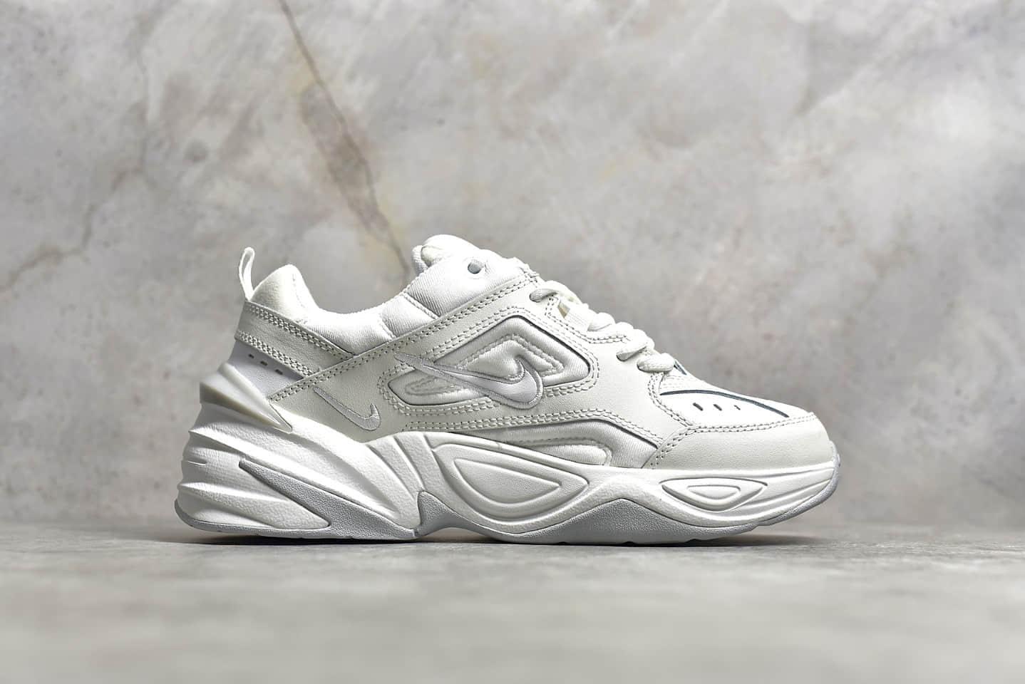 耐克M2K纯白色跑鞋 NIKE M2K Tekno 耐克老爹鞋纯原版本 莆田耐克M2K 货号:AO8108-100-潮流者之家
