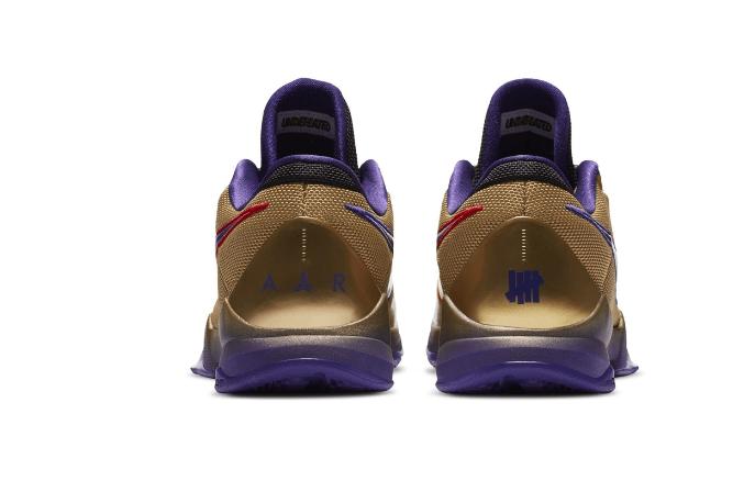 """耐克科比5代名人堂配色 UNDEFEATED x Nike Kobe 5 Protro """"Hall of Fame"""" 科比5代球鞋新配色发售 货号:DA6809-700-潮流者之家"""