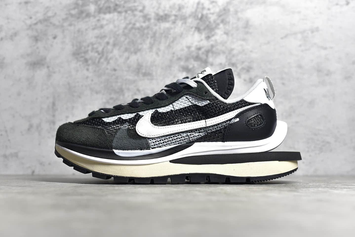耐克Sacai联名黑色老爹鞋 Sacai X Nike regasus vaporrly SP 耐克双钩翻毛皮原厂品质 货号:CV1363-001-潮流者之家