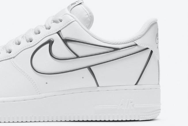 耐克空军官方二次元低帮 Nike Air Force 1 Low 经典耐克空军一号全白小白鞋 货号:DH4098-100-潮流者之家