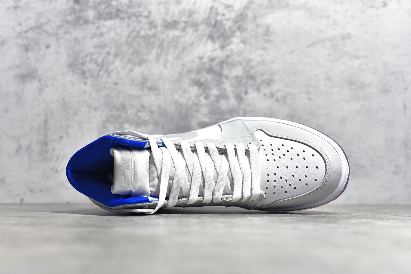 AJ1小迪奥高帮性价比版本 Air Jordan 1 Zoom Racer Blue AJ1迪奥联名 货号:CK6637-104-潮流者之家