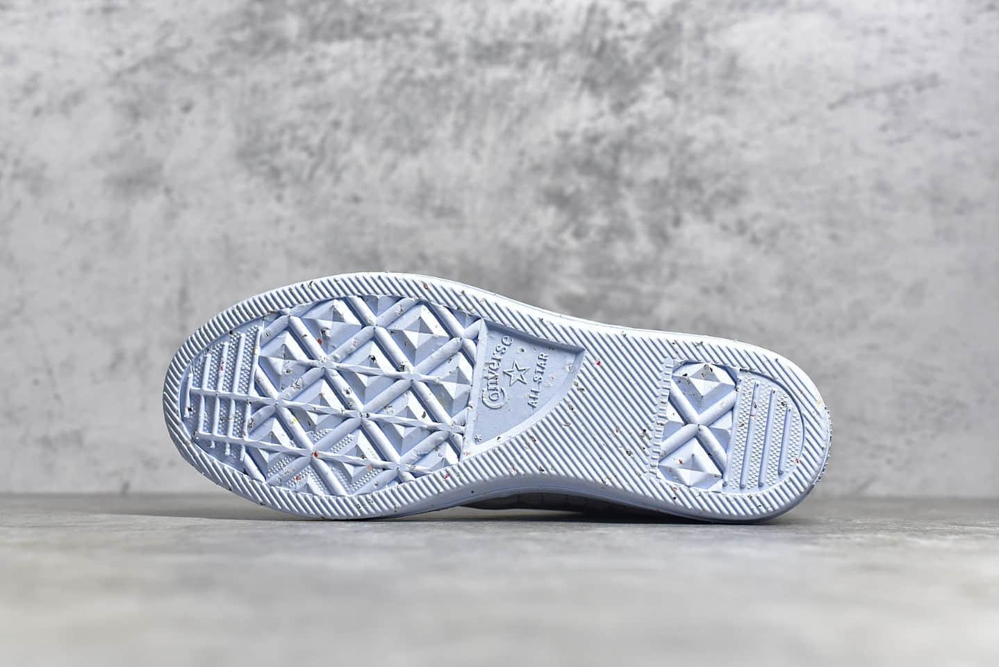 匡威环保鞋高帮板鞋 Converse All Atar Crater 匡威超轻脚感好帆布鞋 货号:168872C-潮流者之家
