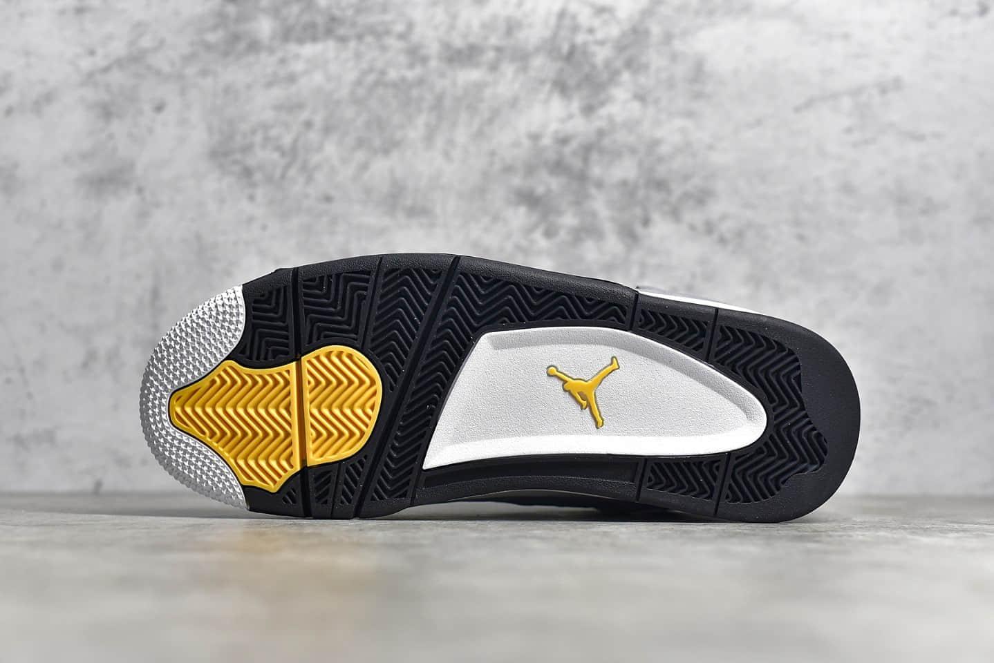 """AJ4酷灰复刻版本 Air Jordan 4 """"Cool Grey"""" 灰老鼠莆田纯原版本AJ4原厂裁片 货号:308497-007-潮流者之家"""