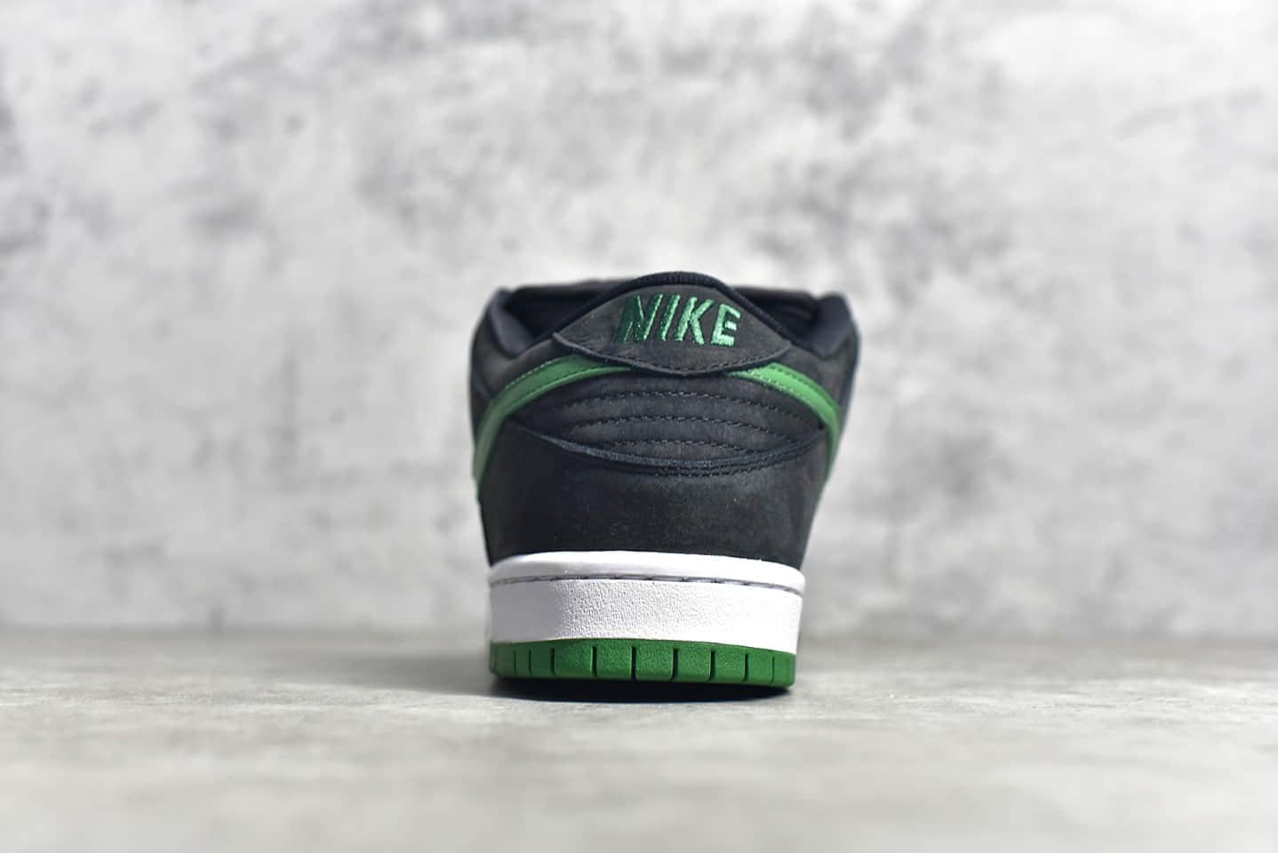 耐克Dunk SB黑绿低帮板鞋 NIKE SB Dunk Low Pro 黑绿纯原版本 货号:BQ6017-005-潮流者之家