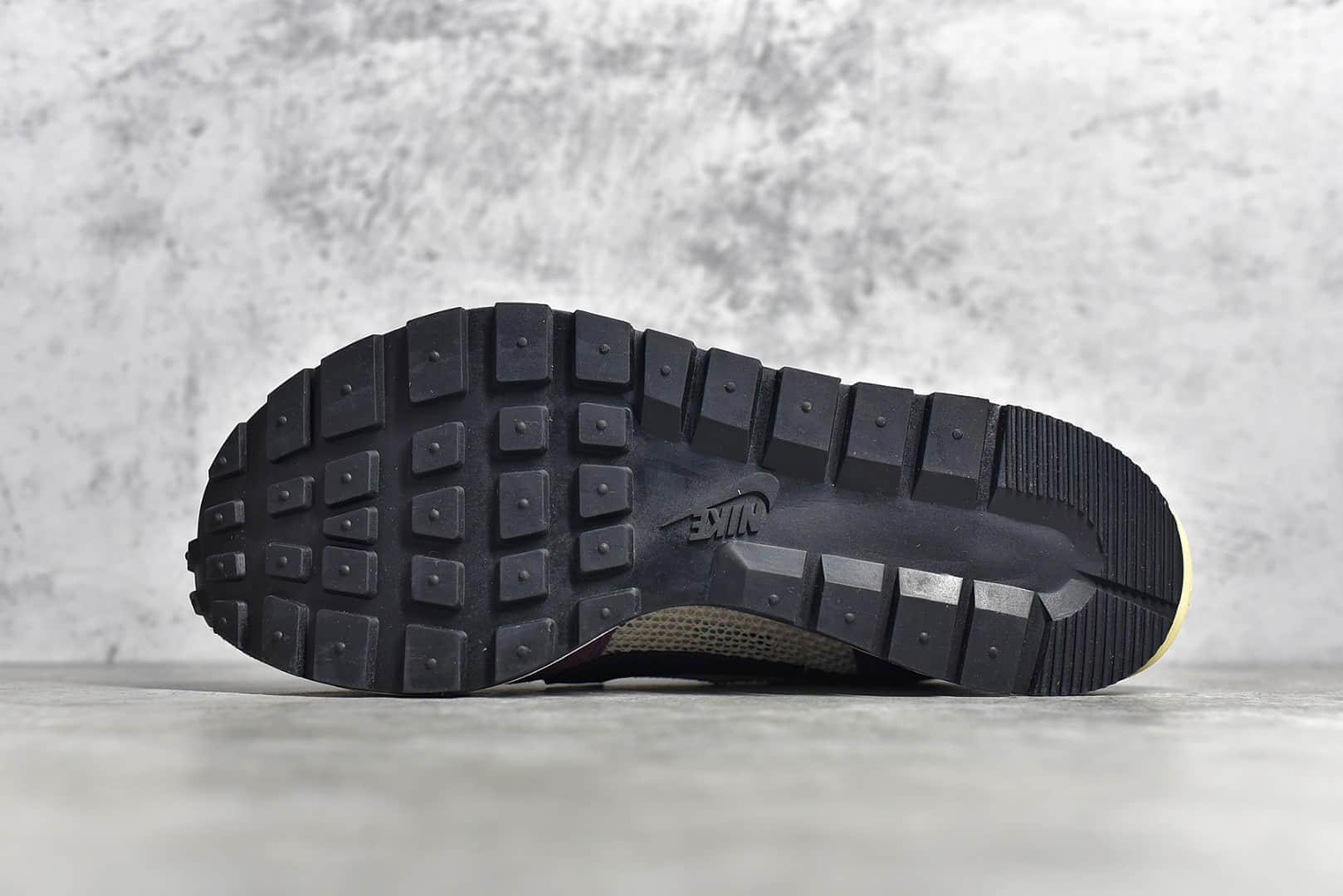 耐克Sacai联名紫色 Sacai X Nike regasus vaporrly SP 耐克华夫Sacai联名翻毛皮解构鞋 货号:BV0073-001-潮流者之家