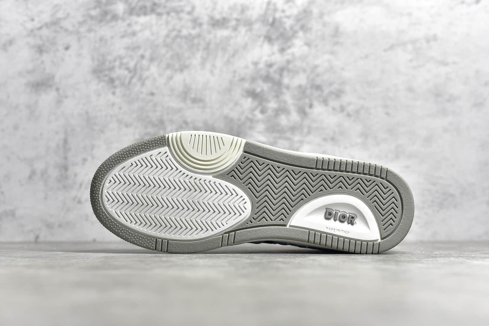 迪奥B27系列低帮板鞋 各路明星上脚Dior迪奥2020秋冬款 莆田迪奥顶级复刻版本-潮流者之家