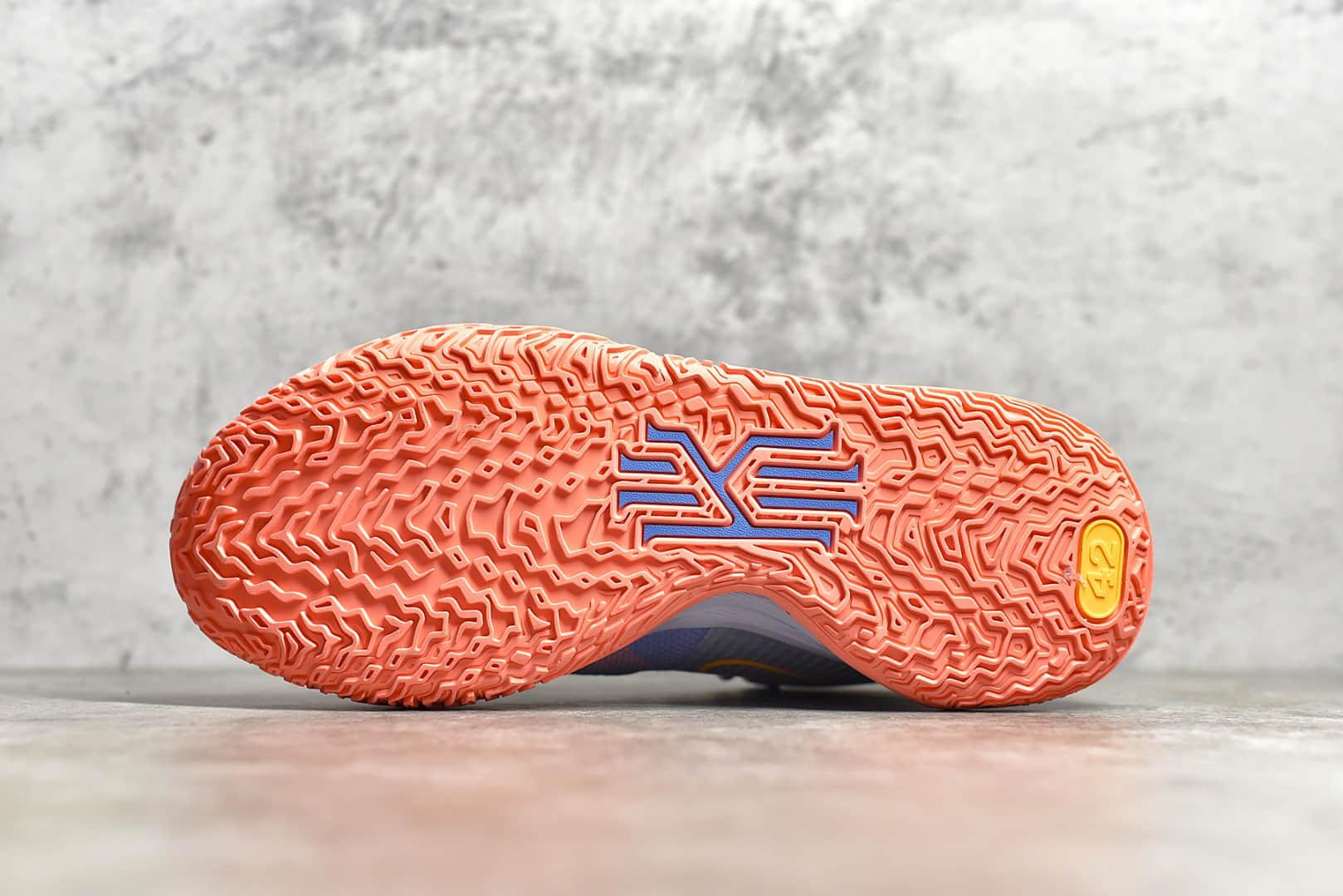 耐克欧文7代蓝粉实战球鞋 NIKE 欧文7