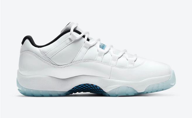 """AJ11白蓝低帮真碳25周年纪念款 Air Jordan 11 Low """"Legend Blue"""" 致敬乔丹1996年全明星赛 货号:AV2187-117-潮流者之家"""