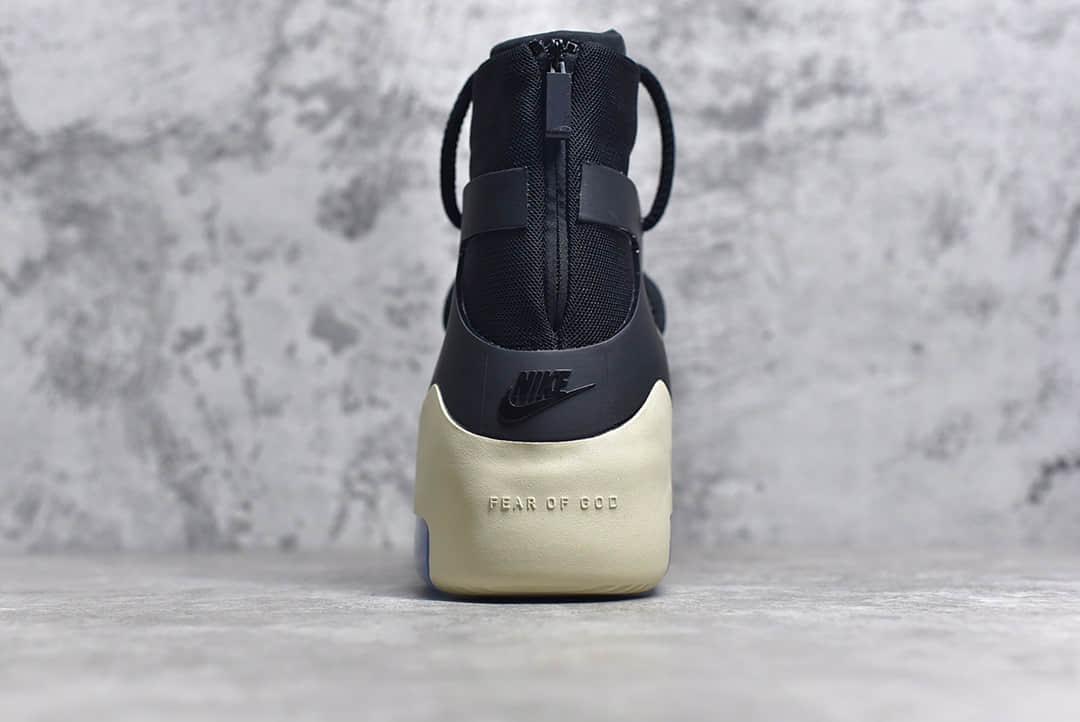 耐克FOG黑魂篮球鞋 NIKE AIR FEAR OF GOD 1 FOG纯原版本 莆田全市场唯一无氧化品质 货号:AR4237-001-潮流者之家