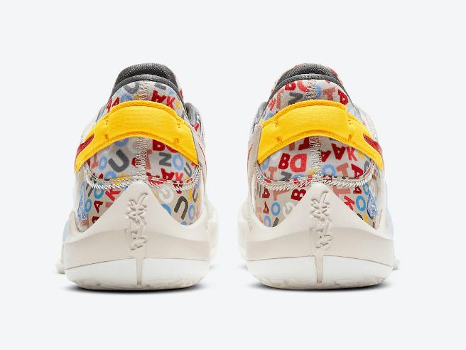 """耐克字母哥PE配色球鞋 Nike Zoom Freak 2 """" Alphabet Soup""""即将发售 字母哥MVP配色篮球鞋 货号:CW3162-001-潮流者之家"""