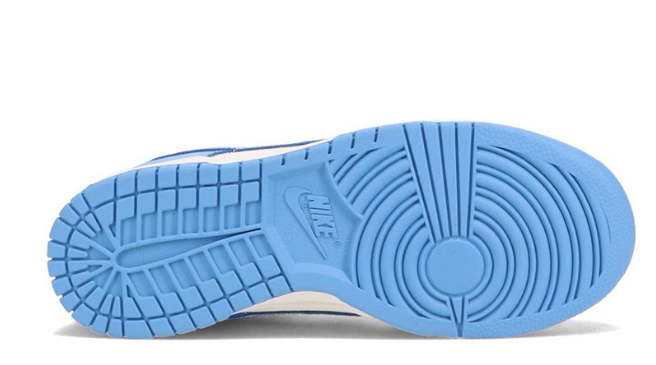 耐克Dunk北卡蓝低帮实物图 Nike Dunk Low