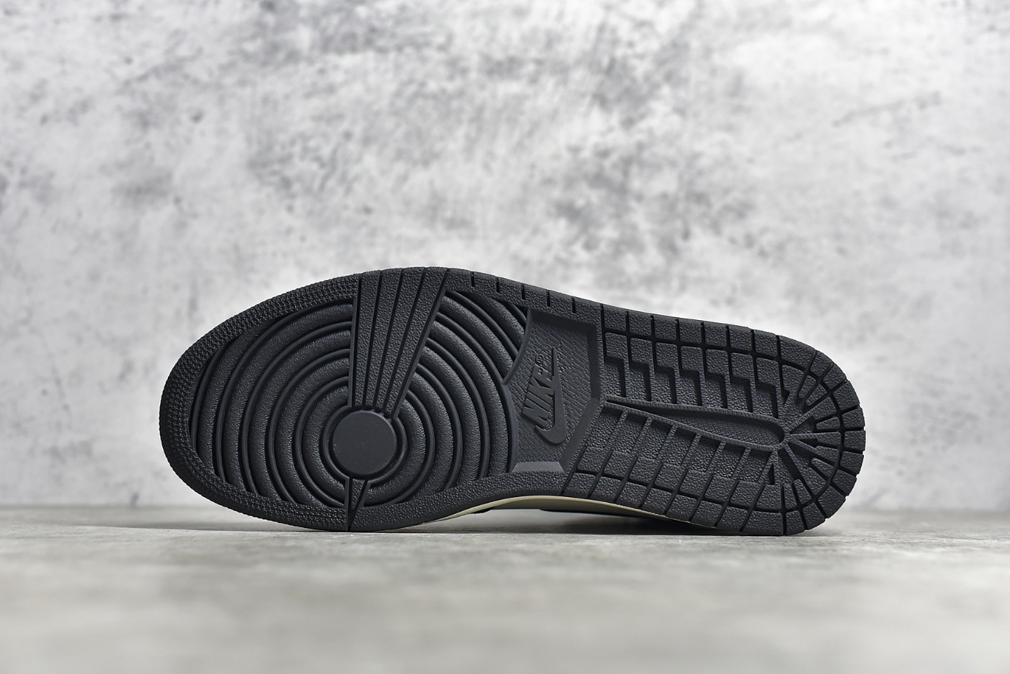 """AJ1小倒钩摩卡咖啡 Air Jordan 1 Retro """"Dark Mocha"""" SG纯原版本AJ1白黑棕 货号:555088-105-潮流者之家"""