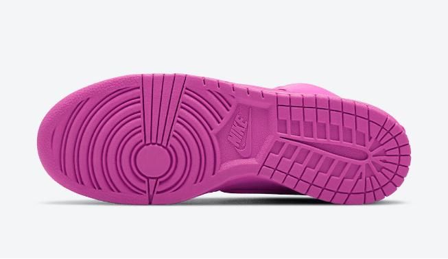 耐克Dunk SB亮粉色高帮联名款 AMBUSH x Nike Dunk High 耐克Dunk SB AMBUSH联名新配色 货号:CU7544-600-潮流者之家