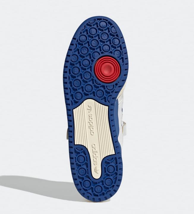 """阿迪达斯复古白蓝板鞋 adidas Forum 84 Low OG """"Bright Blue"""" 低帮阿迪达斯复古板鞋发售日期 货号:S23764-潮流者之家"""