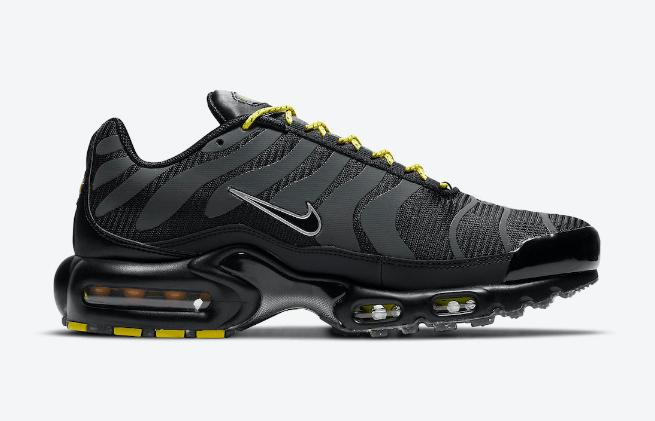 耐克MAX PLUS黑色老爹鞋气垫鞋 Nike Air Max Plus 耐克可回收材质垃圾鞋全新配色 货号:DD7112-002-潮流者之家