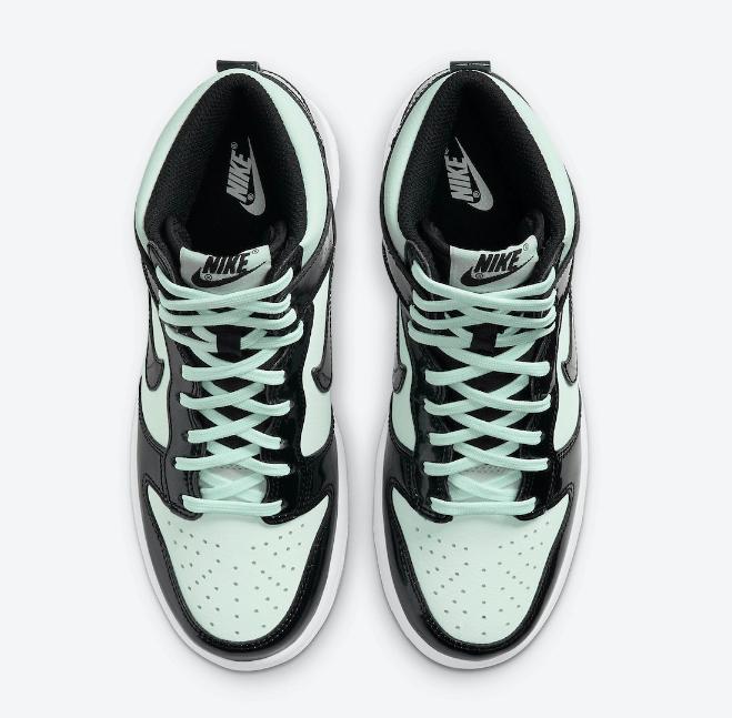 """耐克Dunk全明星高帮全新配色 Nike Dunk High """"All-Star"""" 耐克Dunk薄荷绿高帮联名款 货号:DD1398-300-潮流者之家"""