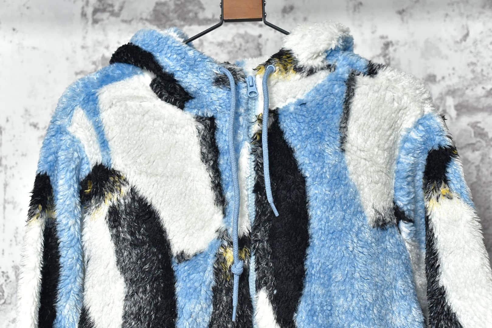 Supreme羽绒服顶级复刻 Supreme 20Fw Penguins Hooded Fleece 进口绒面莆田保暖SUP羽绒服-潮流者之家