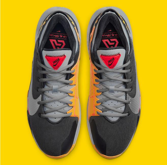"""耐克字母哥二代球鞋致敬励志故事 Nike Freak 2 """"Taxi"""" 字母哥 Freak 2发售日期 货号:CK5825-006-潮流者之家"""
