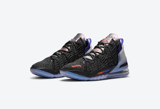 """耐克詹姆斯姆巴佩联名联名款球鞋 Kylian Mbappé x Nike LeBron 18 """"The Chosen 2"""" 詹姆斯18代球鞋货号:DB8148-001-潮流者之家"""