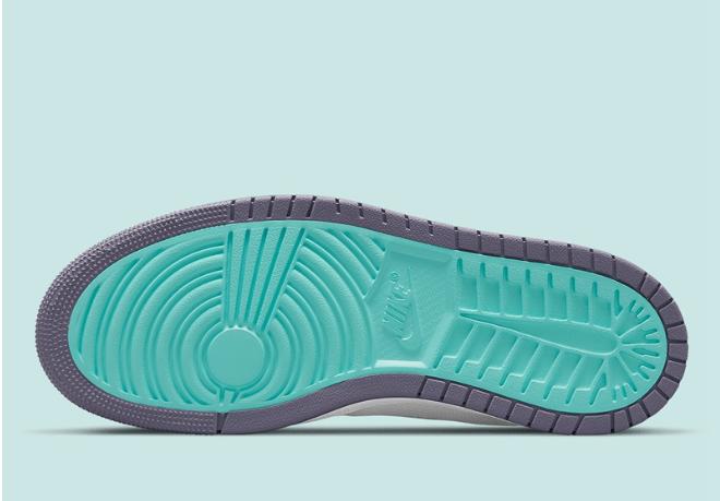 "AJ1紫葡萄高帮 Air Jordan 1 Zoom Comfort ""Tropical Twist"" 全新AJ1 ZOOM新款即将发售 货号:CT0978-150-潮流者之家"
