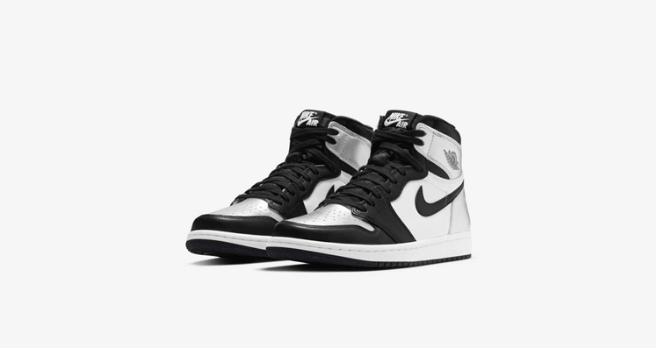 "AJ1黑银脚趾上脚图 Air Jordan 1 High OG WMNS ""Silver Toe"" 耐克AJ1黑银高帮发售日期 货号:CD0461-001-潮流者之家"