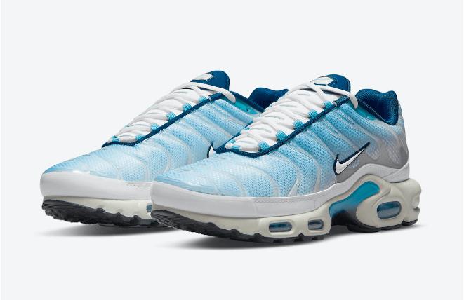 耐克蓝色渐变老爹鞋 Nike Air Max Plus 耐克MAX PLUS新款发售日期 货号:CZ1651-400-潮流者之家