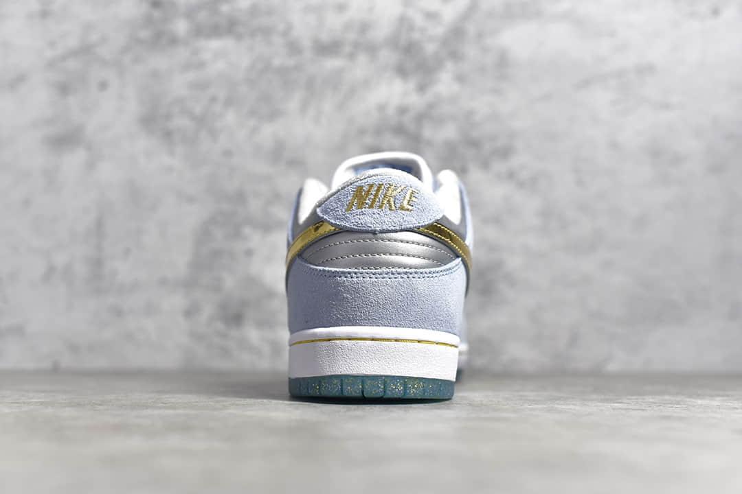 耐克SB Dunk冰雪奇缘 Sean Cliver x Nike SBDunk Low Pro QS