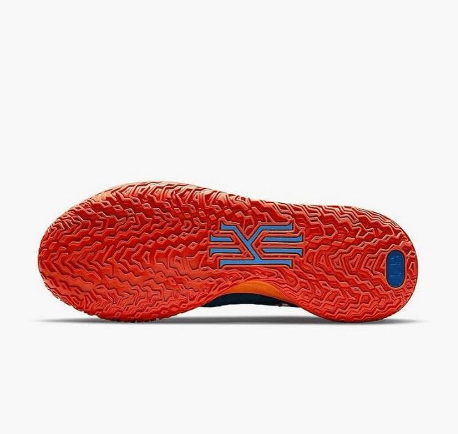耐克欧文7神秘埃及主题 Concepts x Nike Kyrie 7 实战欧文7蓝橙联名款首次曝光 货号:CT1137-900-潮流者之家