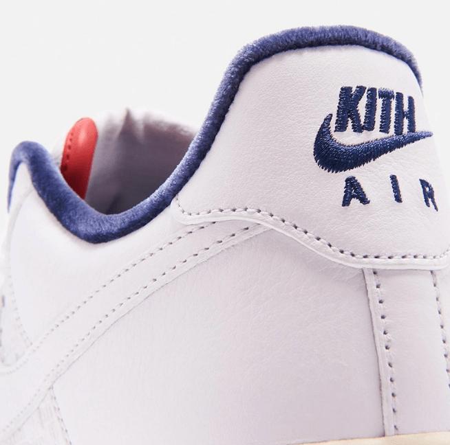 """耐克空军一号法国限定 KITH x Nike Air Force 1 """"Paris"""" 耐克空军KITH联名新款实物图 货号:CZ7927-100-潮流者之家"""