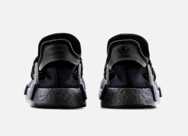 阿迪达斯NMD菲董黑武士造型 Pharrell x adidas NMD Hu 全新阿迪达斯菲董联名新款 货号:GX2487-潮流者之家