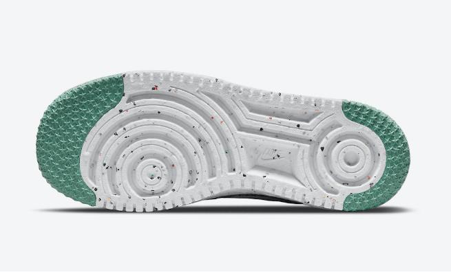 耐克空军环保鞋 Nike Air Force 1 Flyknit 2.0 耐克空军针织鞋面超轻板鞋 货号:DC7273-500-潮流者之家