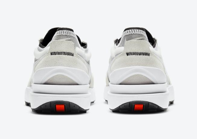 """耐克华夫灰白镂空轻跑鞋 Nike Waffle One """"Summit White"""" 耐克解构鞋 平民版Sacai 货号:DA7995-100-潮流者之家"""