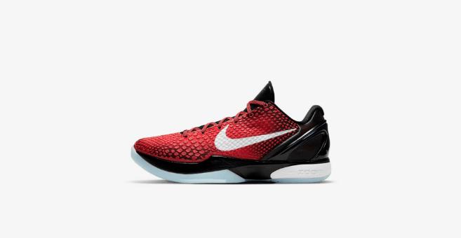 """耐克科比球鞋6代全明星 Nike Kobe 6 Protro """"All-Star"""" 科比6黑红实战篮球鞋复刻 货号:DH9888-600-潮流者之家"""