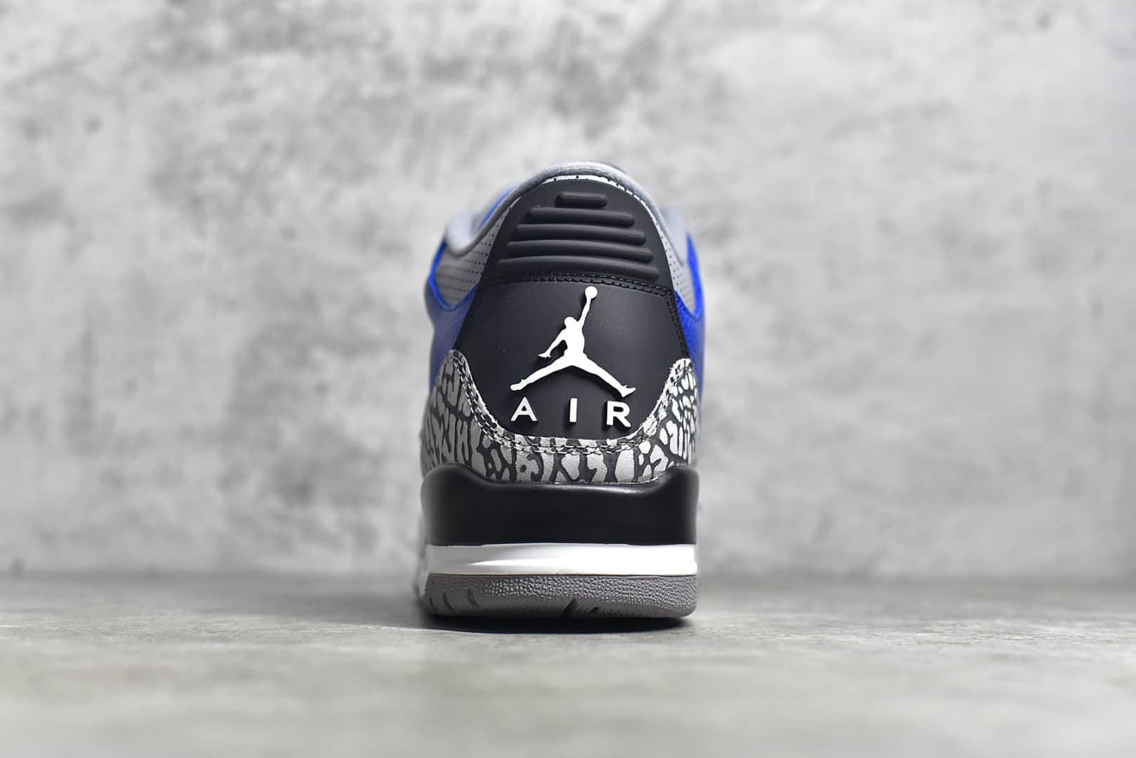 AJ3蓝水泥实战球鞋 Air Jordan 3 Retro