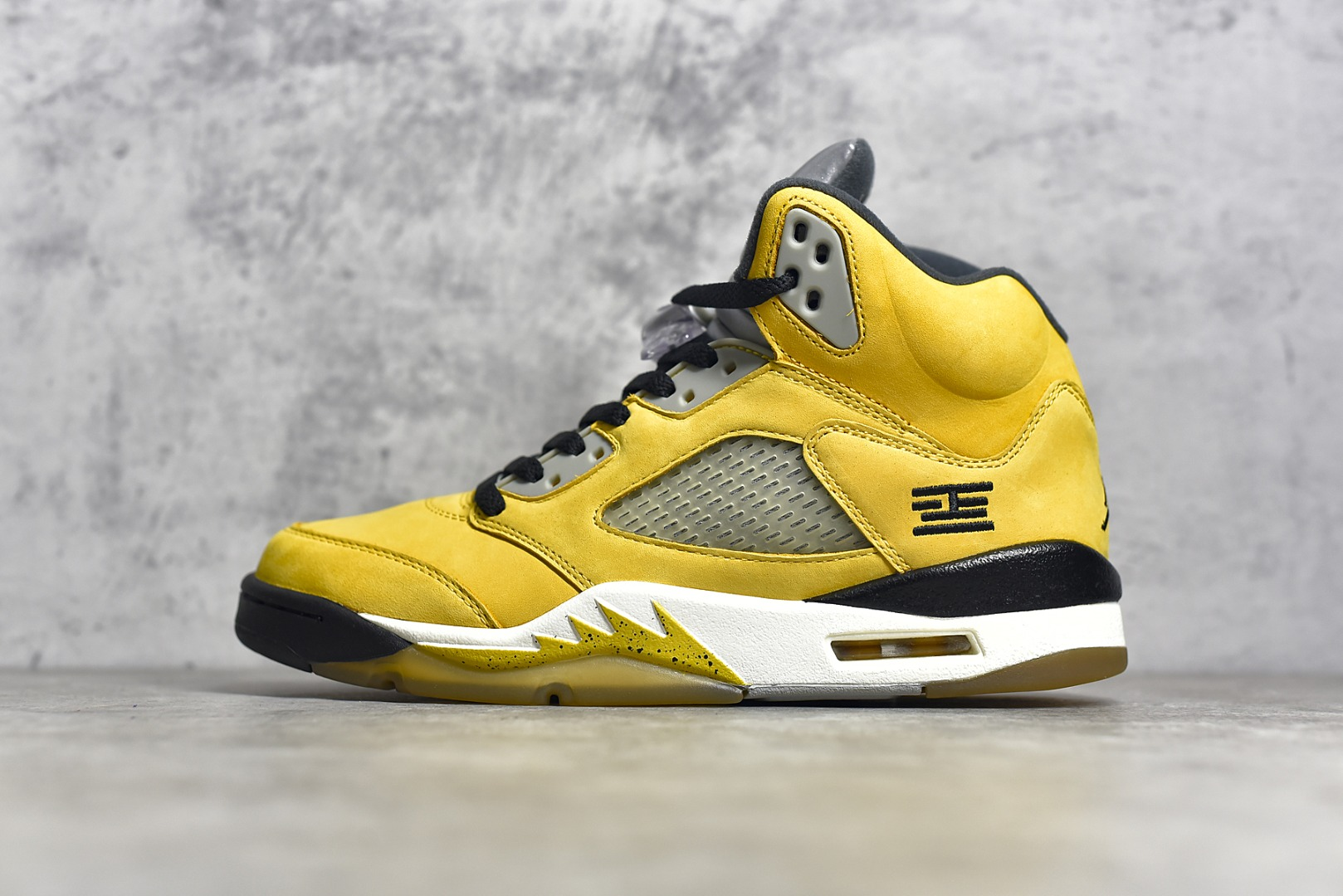 AJ5东京黄色实战球鞋 Air Jordan 5 Retro Tokyo T23东京 AJ5黄色篮球鞋 货号:454783-701-潮流者之家