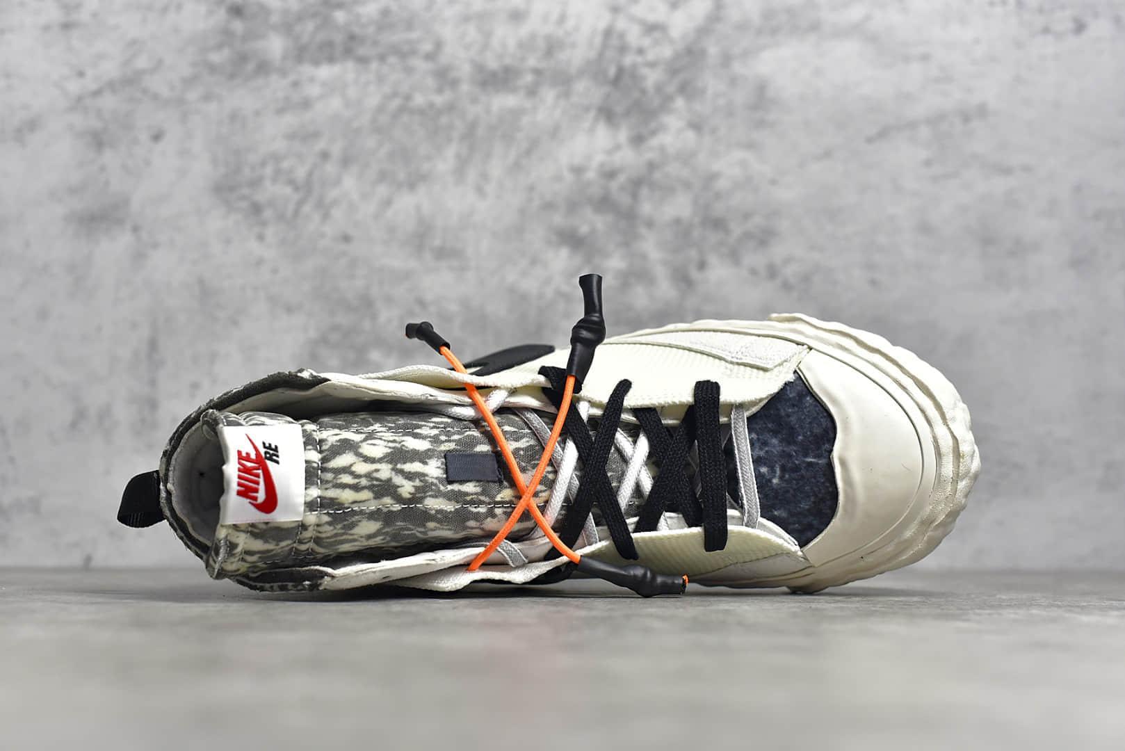 耐克开拓者斯科特联名 READYMADE x NIKE Blazer Mid 耐克READYMADE联名白色高帮 周杰伦同款 货号:CZ3589-001-潮流者之家