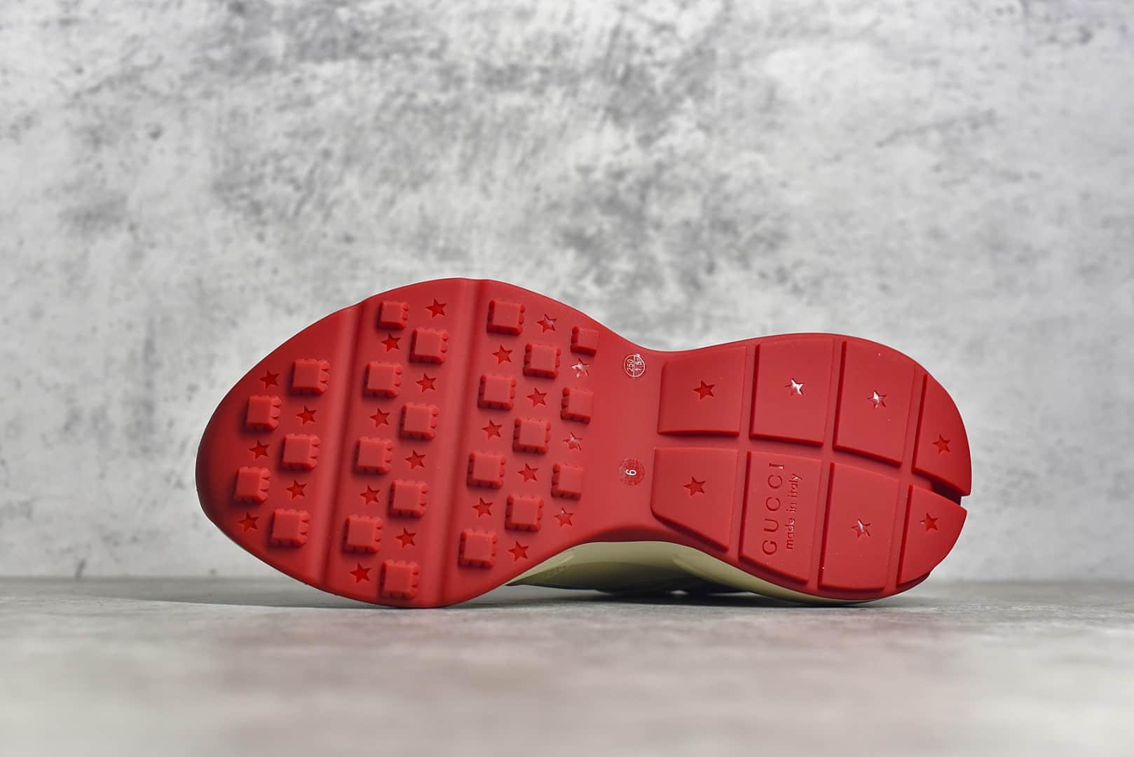 古驰哆啦A梦 古驰老爹鞋 广东顶级工厂Gucci Rhyton Vintage Trainer Sneaker 古驰带芯片精品老爹鞋-潮流者之家