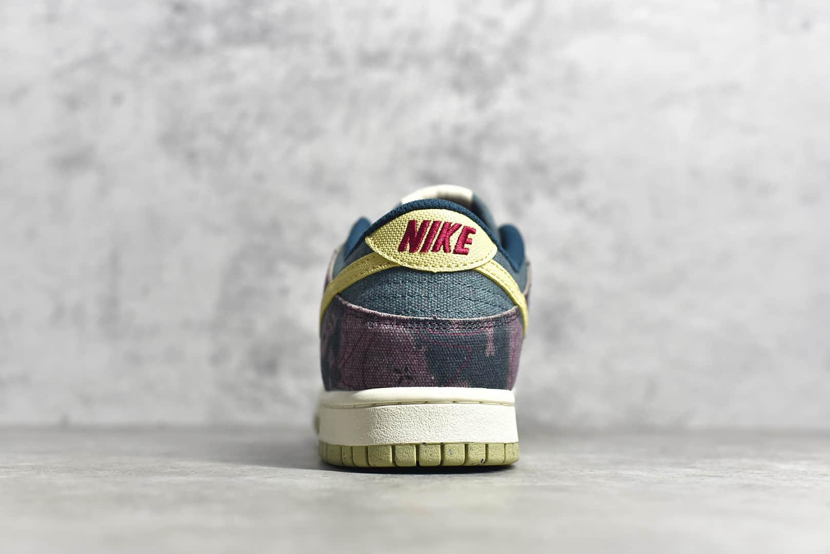 耐克Dunk水洗牛仔低帮 Nike Dunk Low SP