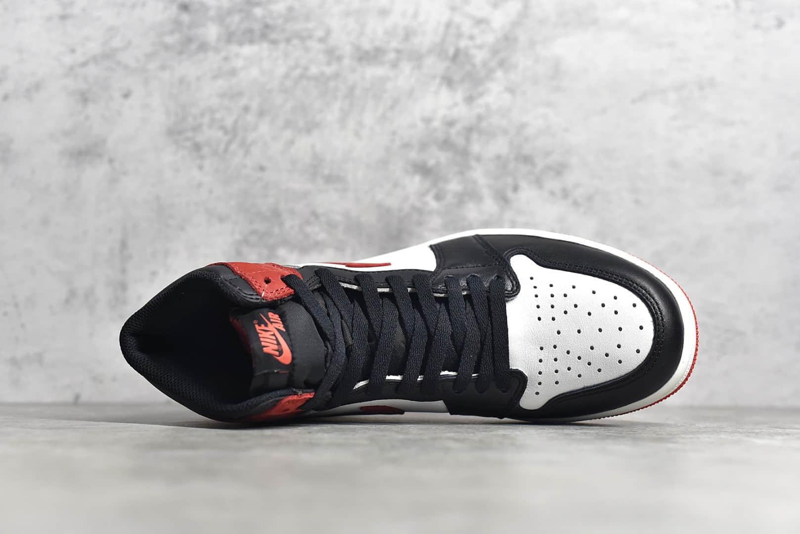 AJ1六冠王白红高帮 Air Jordan 1 Retro