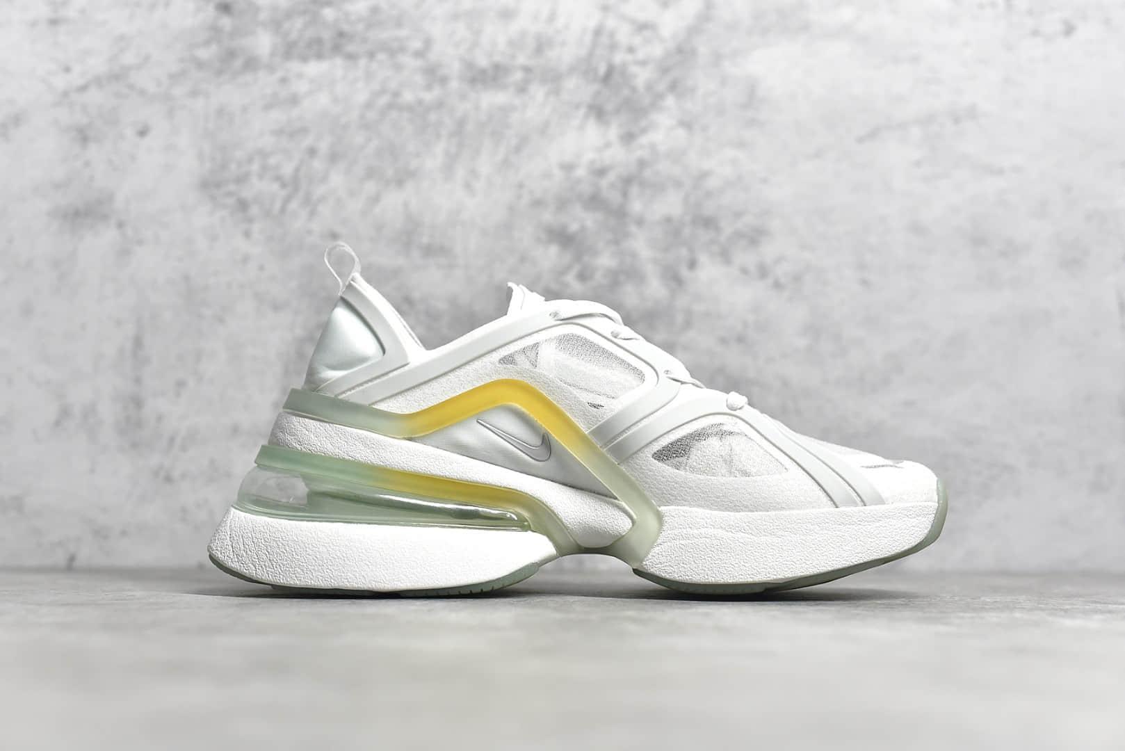 耐克MAX270 xx白色跑鞋 Nike Air Max 270 XX 耐克新款跑鞋老爹鞋 公司级莆田鞋档口货源 莆田鞋代理 货号:CU9430-100-潮流者之家