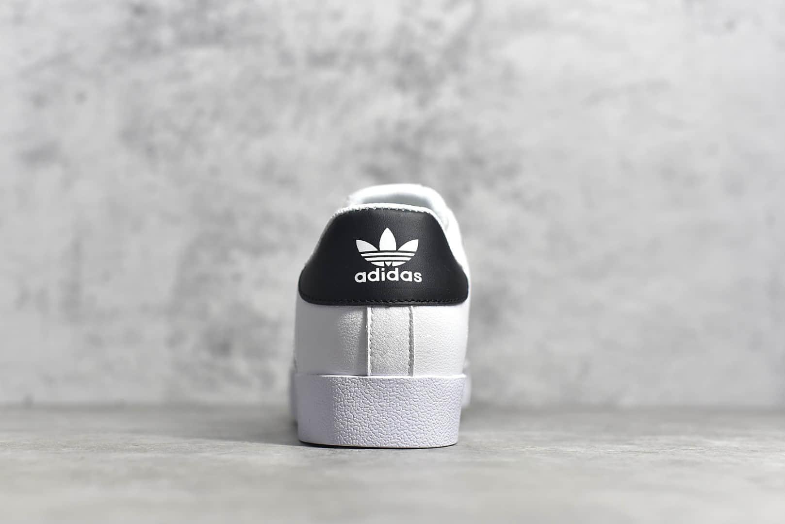 阿迪达斯三叶草校园板鞋公司级顶级版本阿迪达斯 adidas Vrx Low 常青款校园板鞋 货号:AW7374-潮流者之家